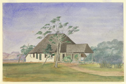 Bungalow of William Wordsworth, Principal of the English College, Poona. 4 January 1868
